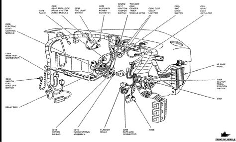 motor repair manual 1988 ford ranger instrument cluster where is the ctm on a 98 ford ranger