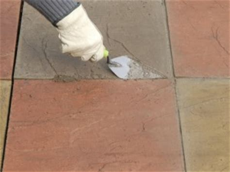 Pointing Patio Slabs by Repointing Patio Slabs