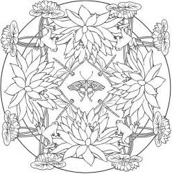 nature mandalas coloring book welcome to dover publications