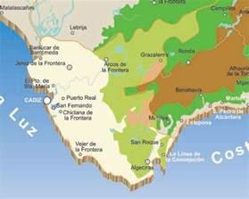 Cadiz Spain Map by Map Of Cadiz Rivers Spain