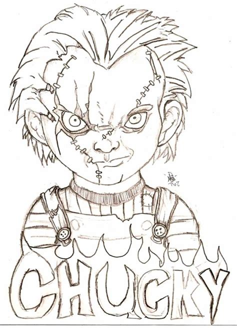 chucky by eyball on deviantart