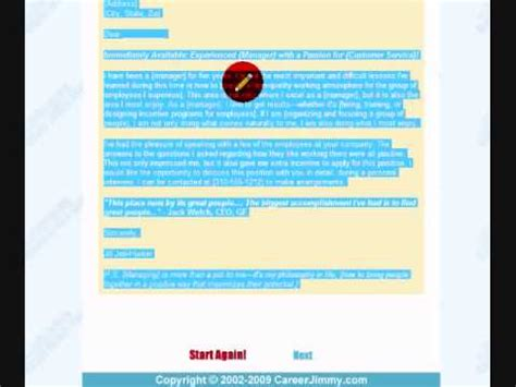 Amazing Cover Letter Creator Software Amazing Cover Letter Creator Demo An Inside Peek