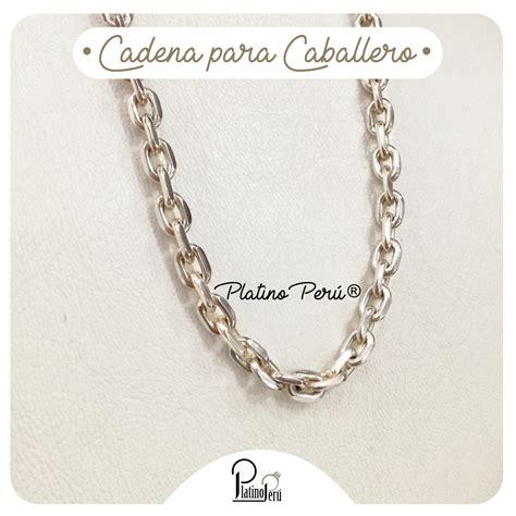 cadenas de plata para hombre en lima cadenas para el platino per 250