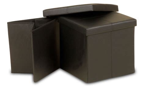Ottoman Storage Box Ottoman Foldable Small Storage Box