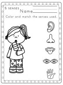 My Five Senses Coloring Pages Coloring Home Five Senses Coloring Page
