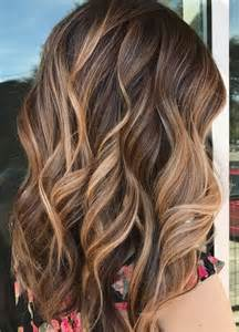highlights hair color caramel ribbons mane interest