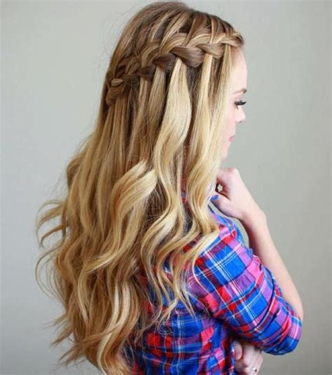 how to do cotillion hairstyles for a twelve year old 17 best ideas about waterfall braid with curls on