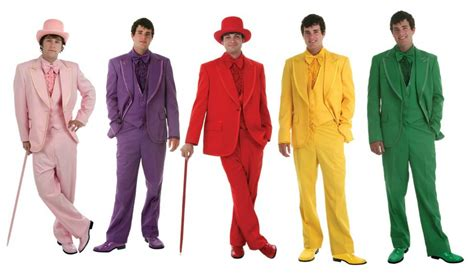 colored tuxedos prom suits and tuxedos for everyone costumes