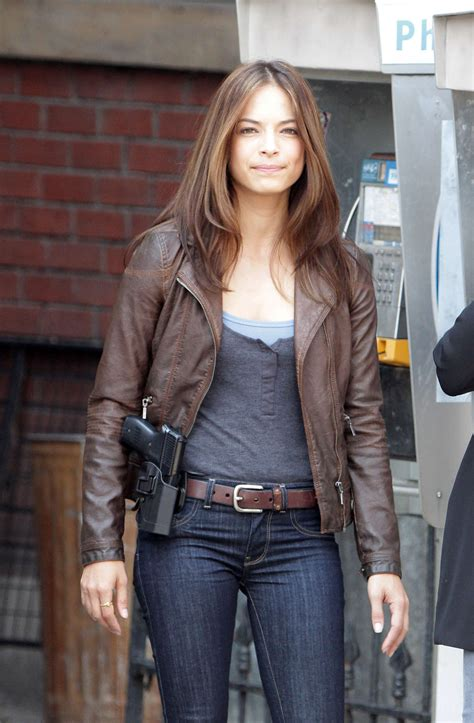 Kristin Kreuk In Cosmo Not A Photoshoot by Kristin Kreuk Filming And The Beast In Toronto