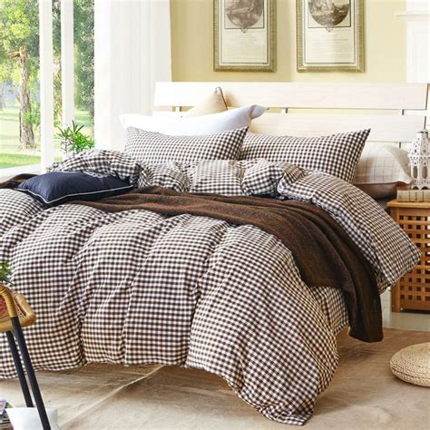 Bedcover Set Bedding Set 1000 ideas about plaid bedding on cheap