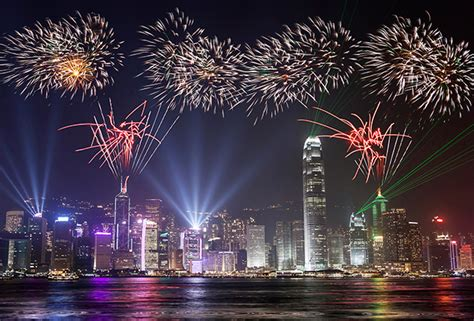 new year fireworks display hong kong 2015 new year celebrations