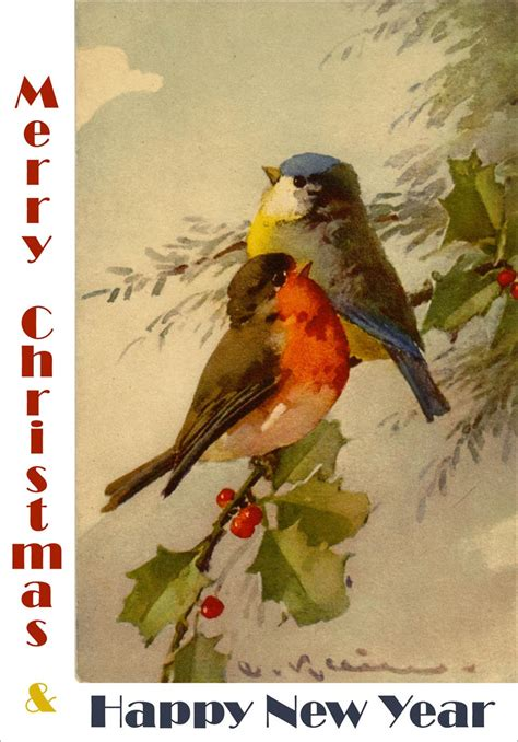 vintage new year songs free printable cards from antique to