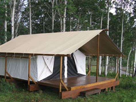 building a tent platform cimarron platform tents outdoor spaces pinterest