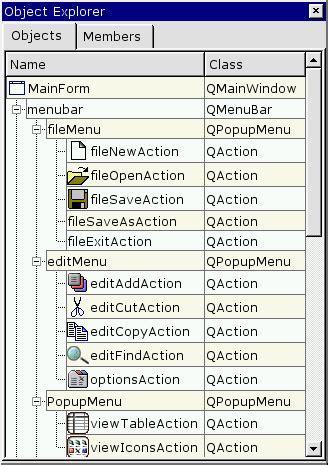 qt layout destructor creating a main window application