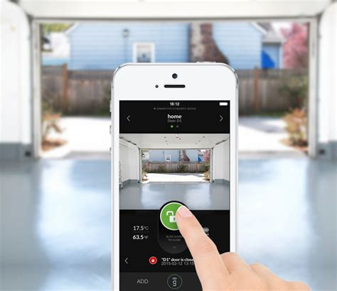 Garage Door Opener App For Iphone by Garage Iphone Garage Door Opener App Home Garage Ideas