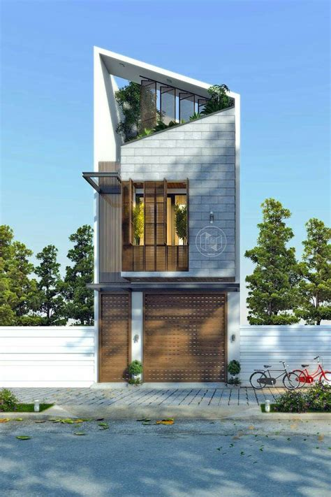 narrow homes narrow house design