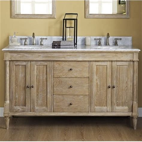 rustic chic bathroom vanity fairmont designs rustic chic 60 traditional double sink