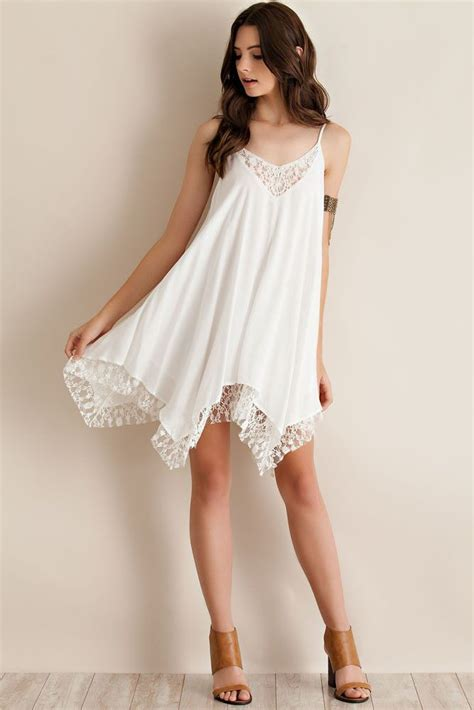 White Sweet S M L Dress 30610 2016 Chiffon Dress Sleeveless Spaghetti
