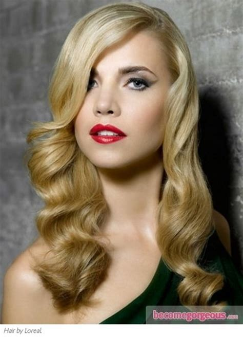 retro hairstyles curls vintage hairstyles for long hair