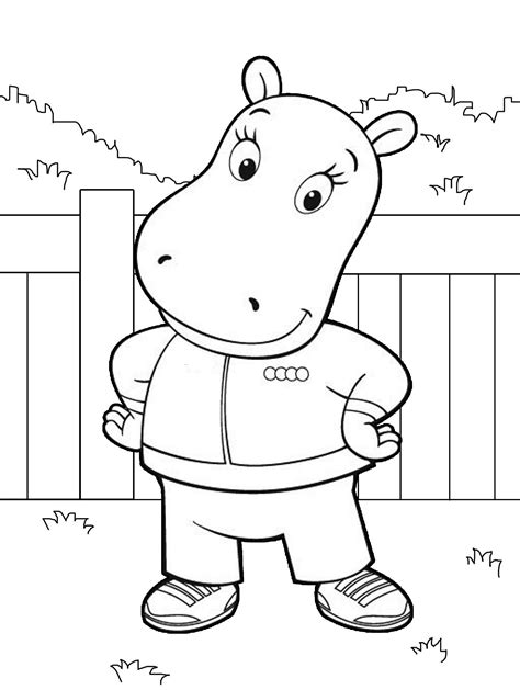 Printable Backyardigans Coloring Pages Coloring Me Backyardigans Coloring Pages