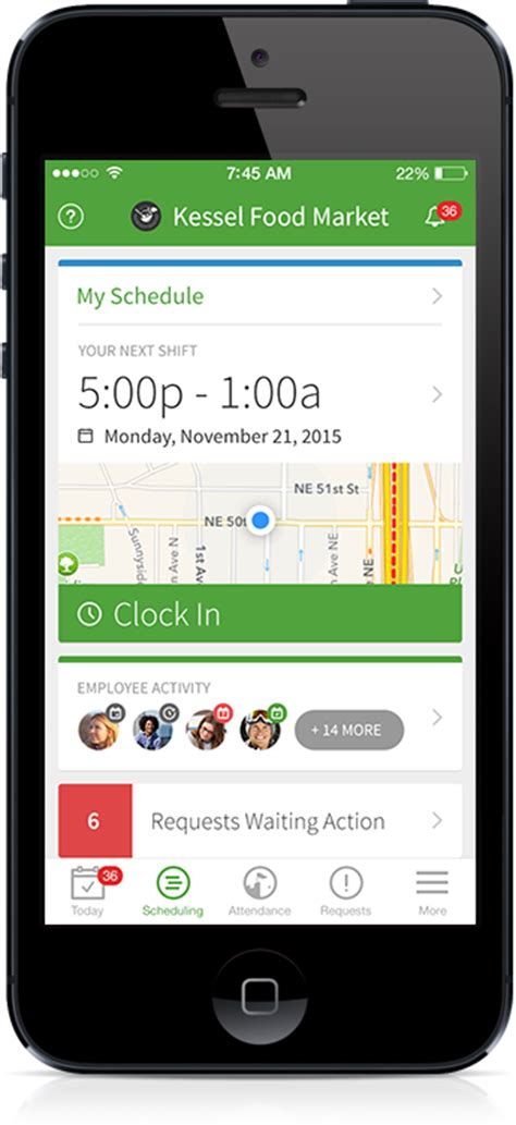 Schedule App Free Staff Scheduling App Employees When I Work