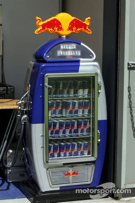 red bull refuel fridge  australian gp