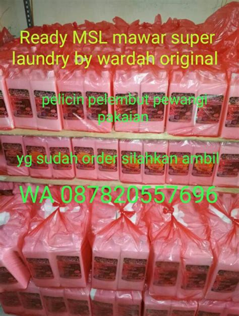 Mawar Laundry By Wardah Original Product msl mawar laundry by wardah original freelance store