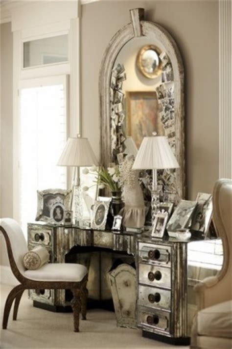 glam mirrored vanity stool glam bedroom pinterest hollywood glam vanity hollywood thing