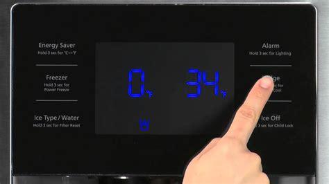 Samsung Door Refrigerator Temperature Settings by Temperature Settings Samsung Door