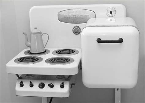 electrochef all in one vintage kitchen appliance set