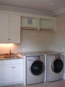 Laundry Room Cabinets With Hanging Rod Holz Residence Traditional Laundry Room By Hardwood Creations