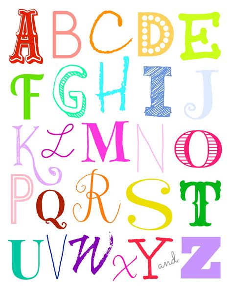 free printable wall art letters alphabet wall art free printables