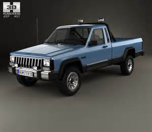 Jeep Mj Jeep Comanche Mj 1984 3d Model Humster3d