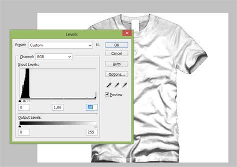 desain kaos menggunakan photoshop cara desain kaos dengan photoshop agar menjadi lebih nyata