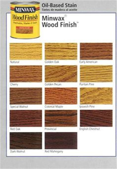 Woods L Color Chart by 1000 Images About Stain On Wood Stain Colors