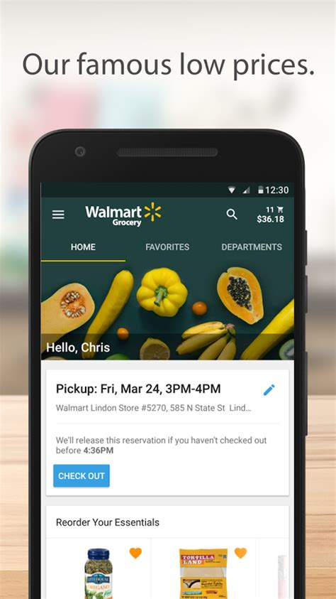 walmart app for android walmart grocery is a new android app for all your food shopping needs drippler apps