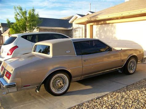 auto air conditioning service 1987 buick riviera free book repair manuals buy used 1985 buick riviera vogue tyres dayton wheels gentleman s chariot 2nd owner in el paso