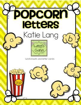 5 Letter Words Popcorn 6 best images of popcorn alphabet letter printable large