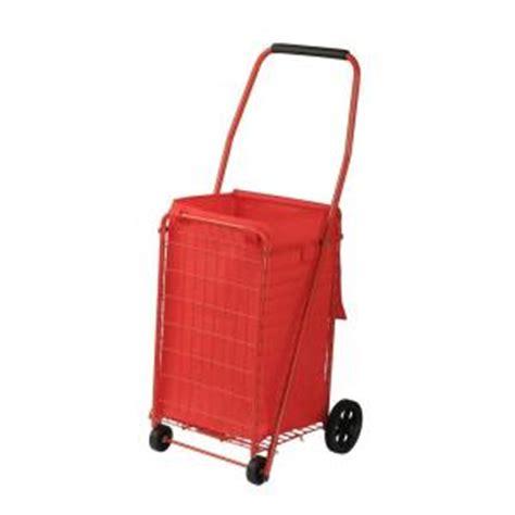 sandusky 4 wheel utility cart with liner fsc3012 the