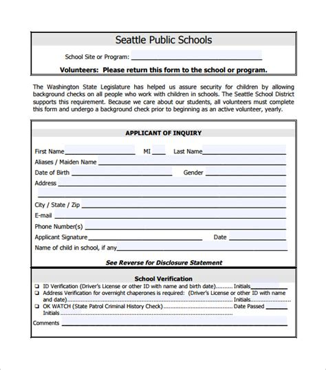 section 8 criminal background check background check form 7 download free documents in pdf