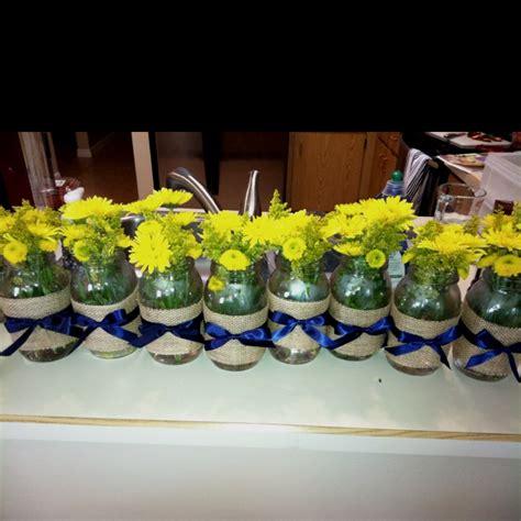 jar centerpieces for bridal shower bridal shower jar centerpieces wedding s