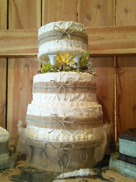rustic wedding themed cakes cakecentral