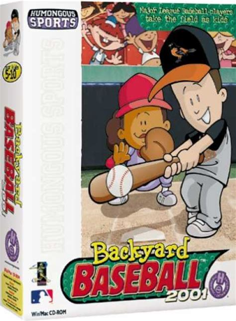 backyard baseball 2003 for mac backyard baseball 2001 game giant bomb