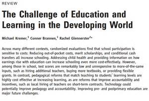 There is even an article that tackles problems basic education faces