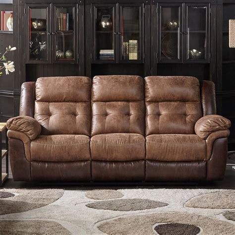 cheers xwm xwm   dual  tone reclining sofa