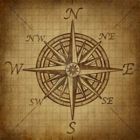 compass tattoo liner drawn compass old ship pencil and in color drawn compass