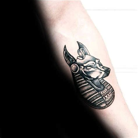 small egyptian tattoos 100 anubis designs for canine ink ideas