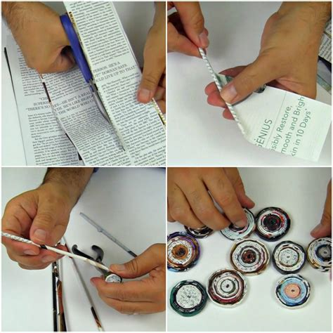 How To Make Paper Jewellery At Home - recycled paper jewelry 183 how to make a magazine necklace