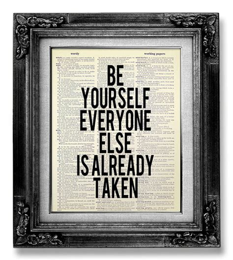 Inspirational Office Decor by Inspirational Quote Poster Office Decor Be Yourself
