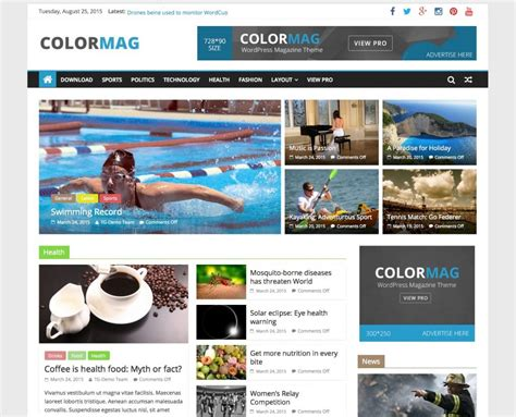wordpress themes free good 15 best free personal blog wordpress themes templates 2018